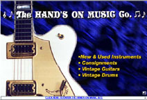 Hands on Music web site by stuart blower