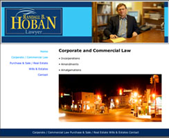 Randy Hoban web site by Stuart Blower