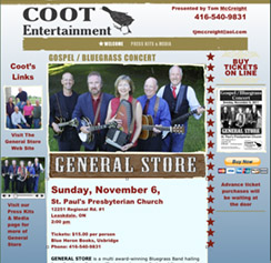 link to Coot Entertainment